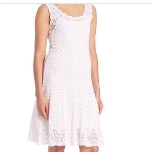 POLO RALPH LAUREN Crochet Knit Pointelle Dress